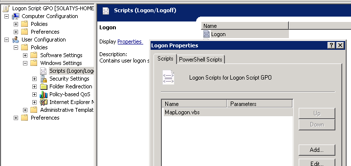 Logon script not executed when placed on a GPO ?