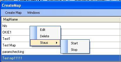 strip column which menu context C#