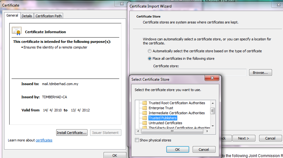 certificate error microsoft tech community datastash co