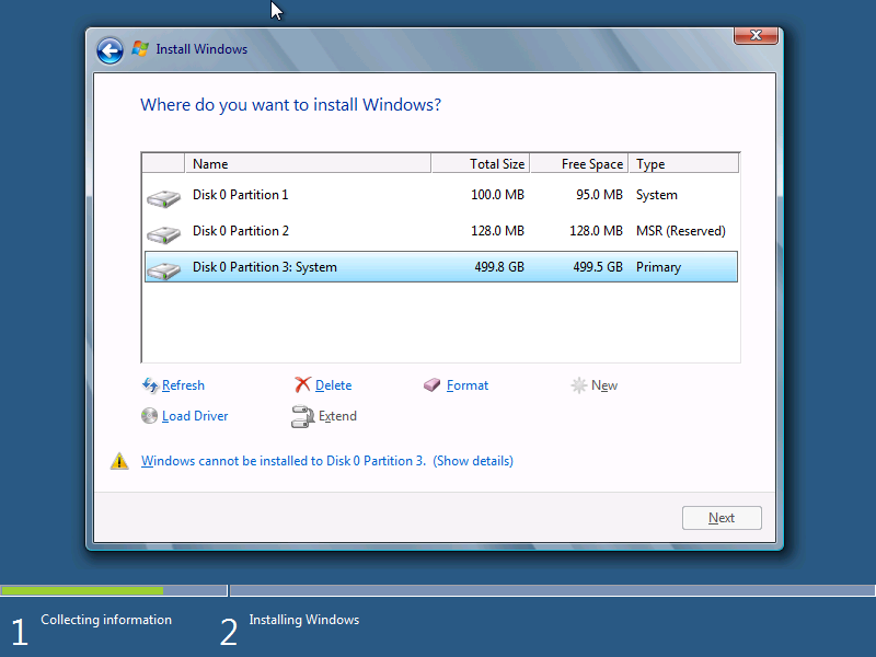 HOWTO: Install Windows 8 or Windows 7 to a GPT Partition in