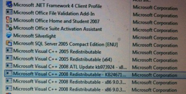 microsoft visual c++ redistributable 2008 x64 free download
