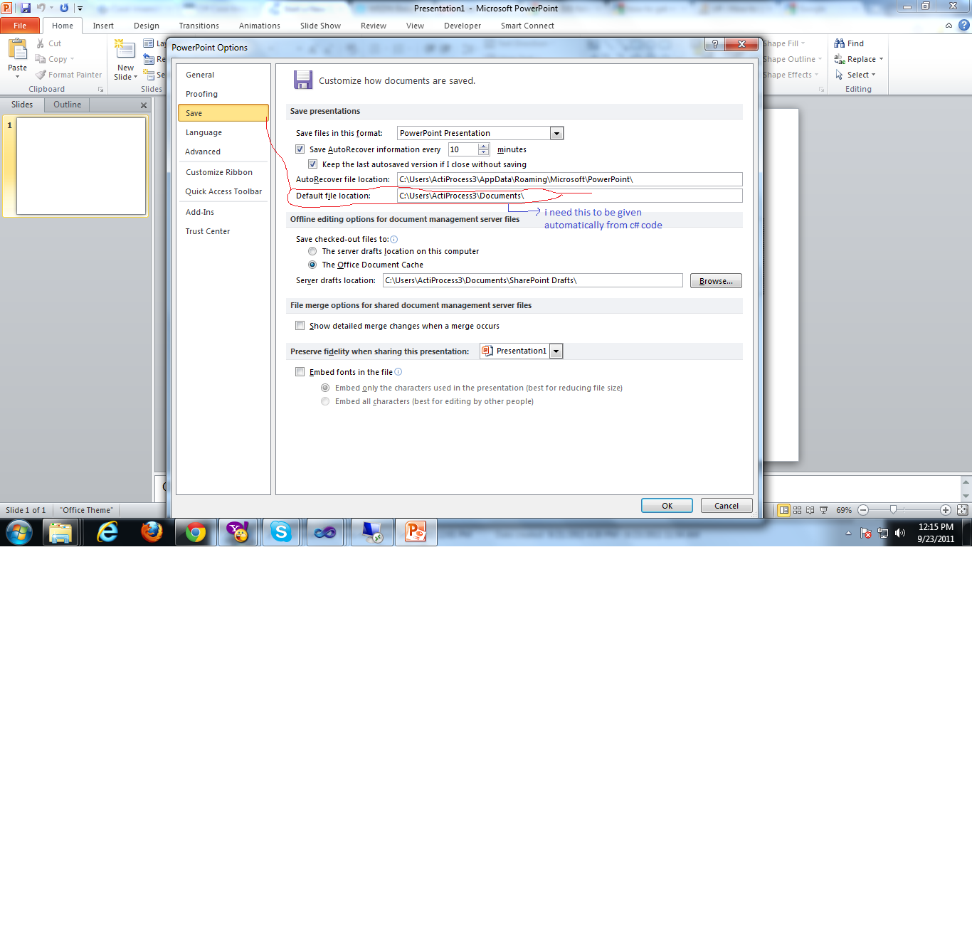 private Microsoft.Office.