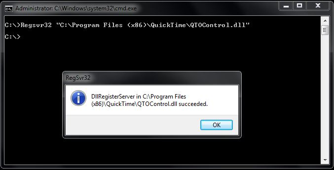 Embedding QuickTime Palyer