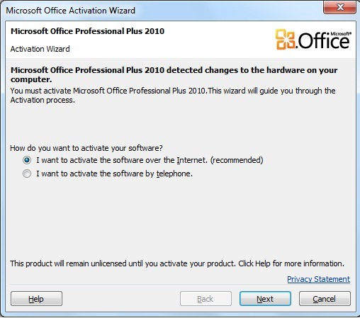 how to activate ms office 2010 professional plus
