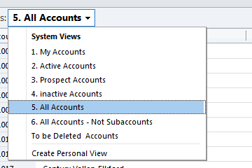 how to change order of accounts in outlook