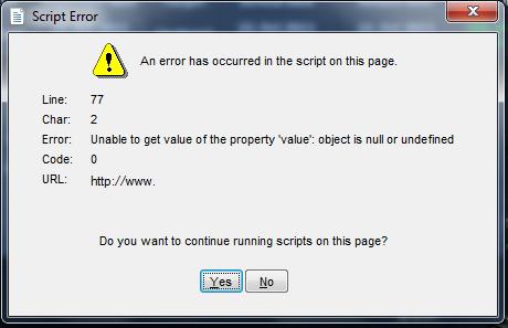 webbrowser script