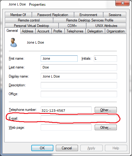 Import Mail: Csvde To Import Email Into Active Directory Mail Field