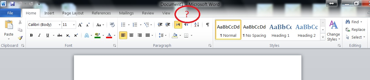 Can 39 t find add ins tab in word 2010 for Word 2010 templates and add ins