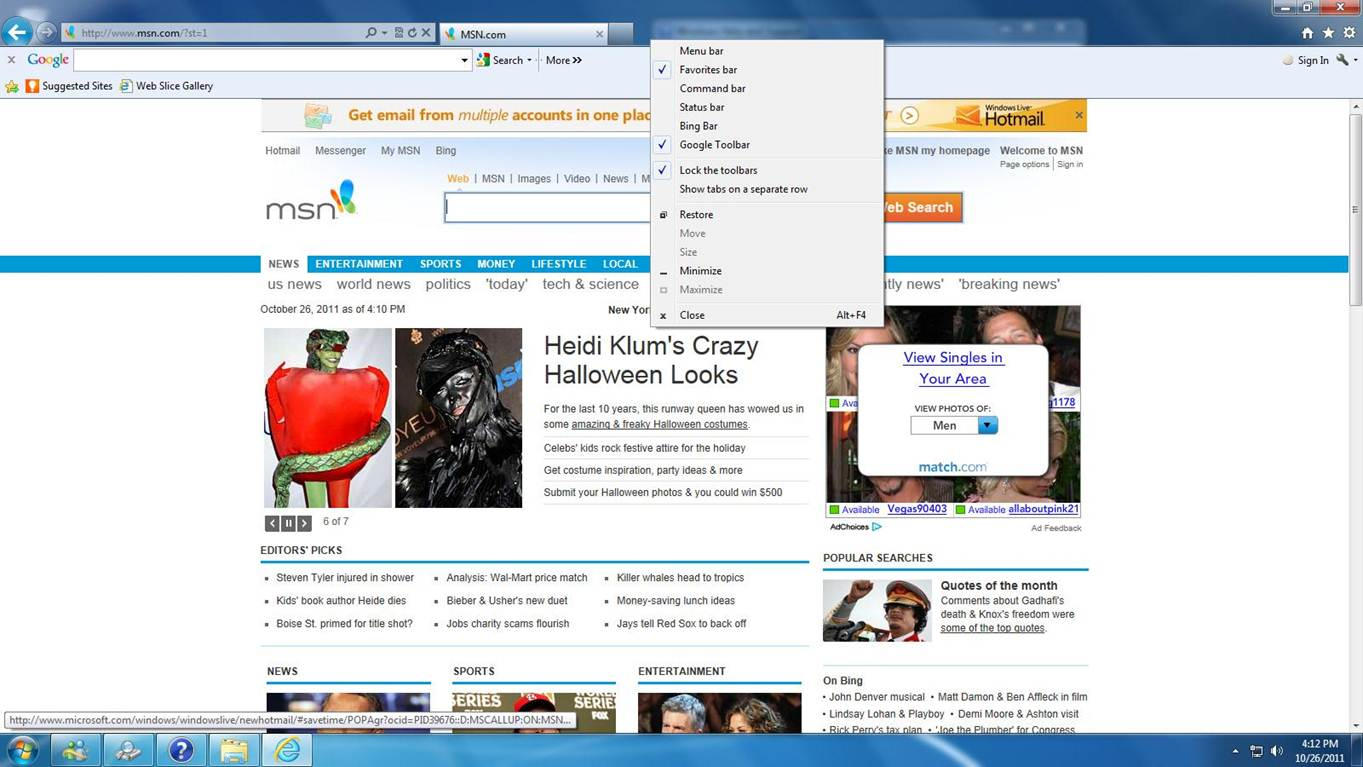 how to add favorites bar to google toolbar