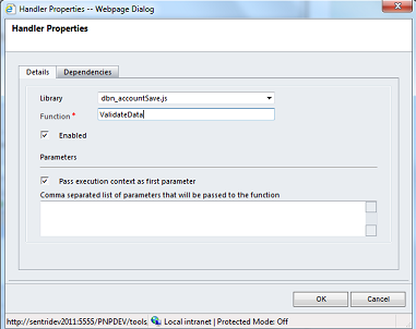 Dynamics CRM 2011 - UK phone number Javascript validation