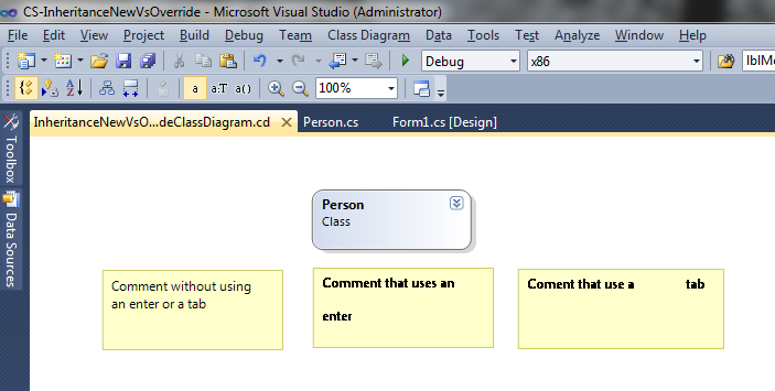Class diagram comments edit excuse my typo on the third comment ccuart Images