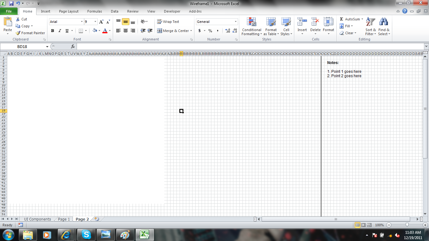 how to create a fixed width text file from excel