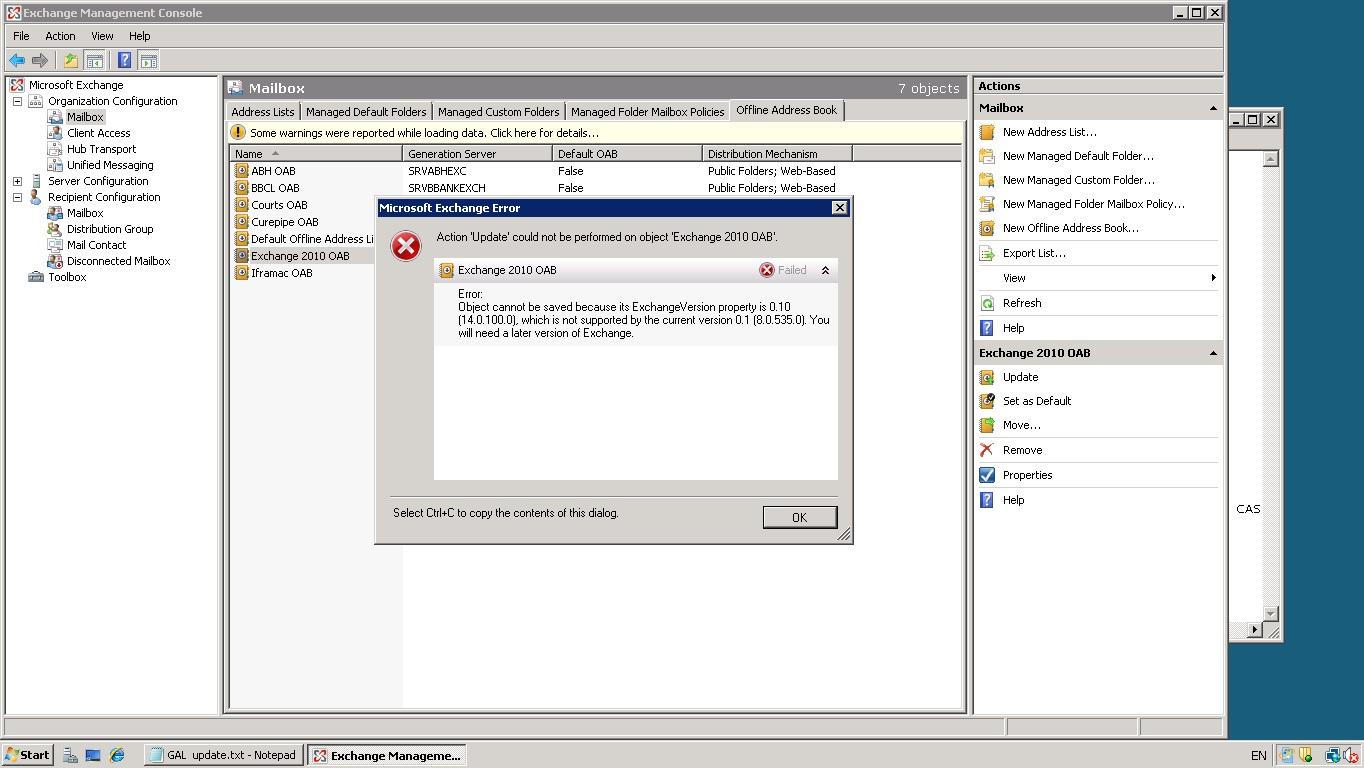 Bdd 2007 updating deploy point zti