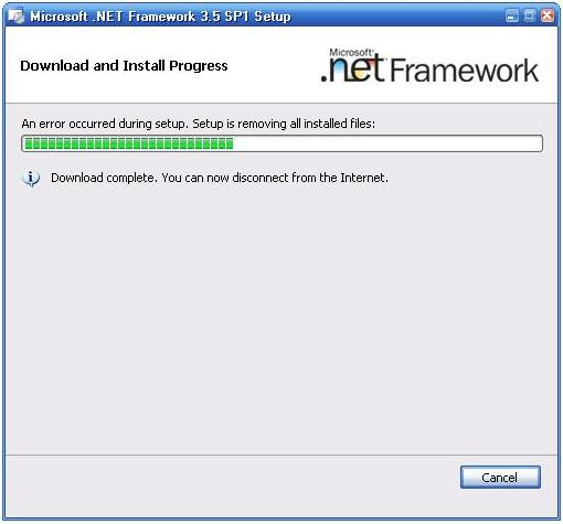 microsoft.net framework 3.5 sp1 for xp free download