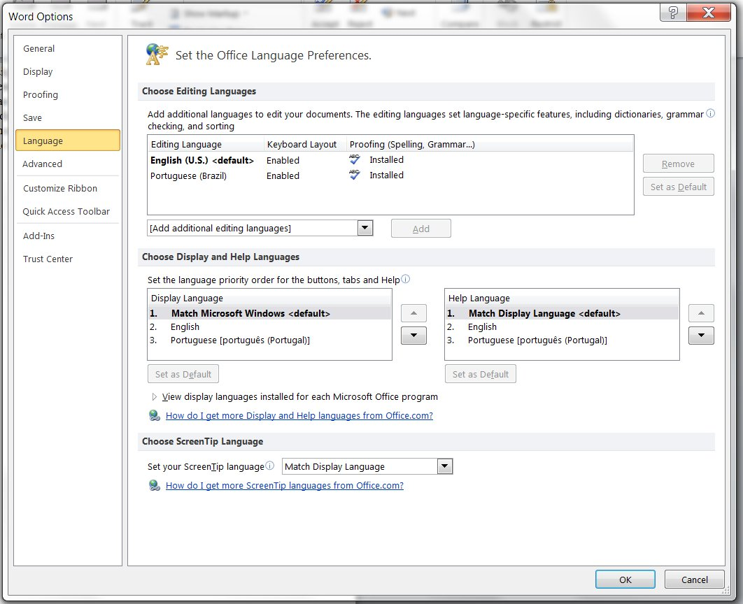 Polish language pack for office 2010