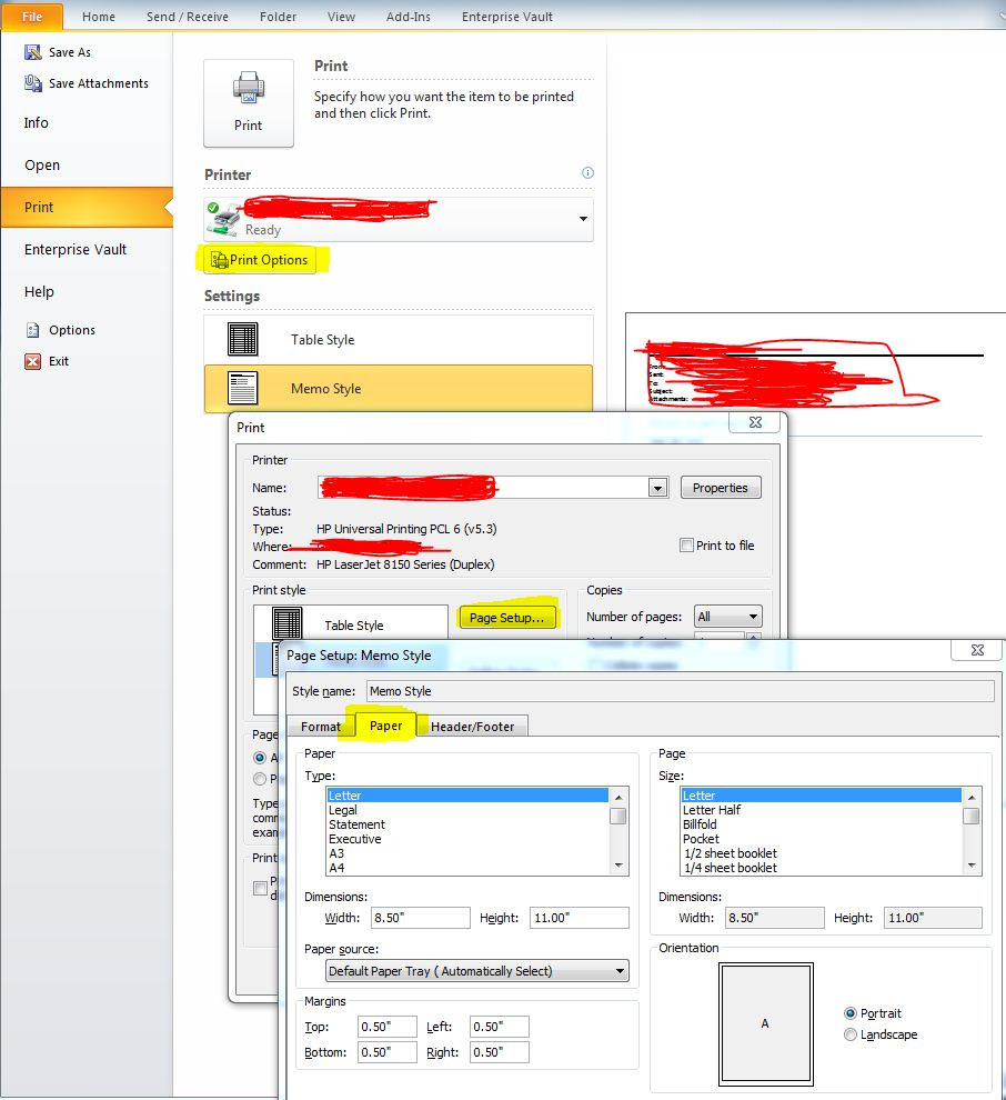 how to change page layout on open office