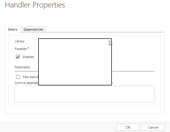 Form Event Handler Dialog with IE expanded combobox