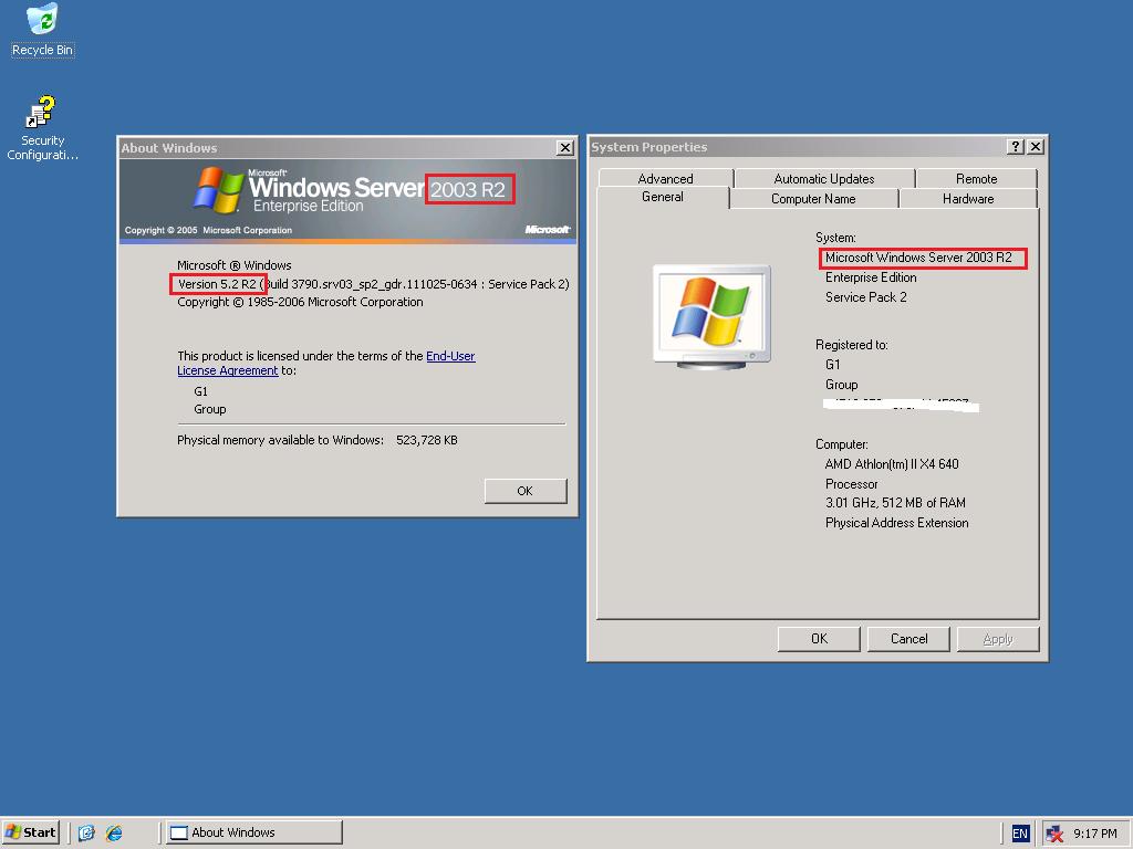 Windows Server 20 Standard
