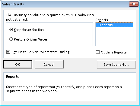 how can i view solver reports in excel 2010 solver add in