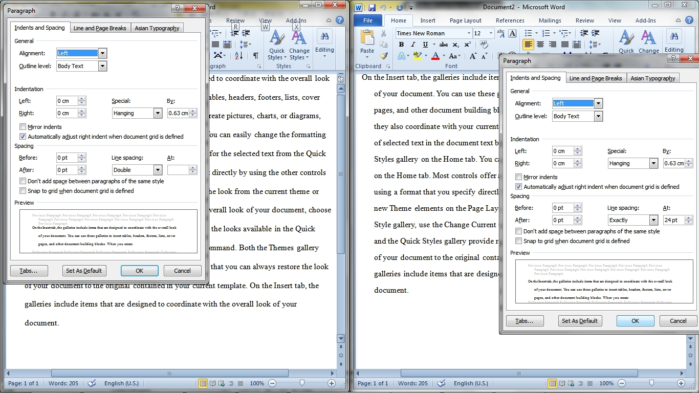 double spaced essay microsoft word