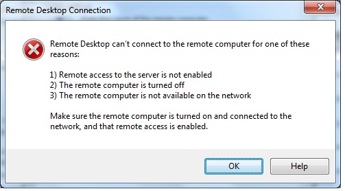 Can't remote desktop to a windows 2008 R2 server | techdork