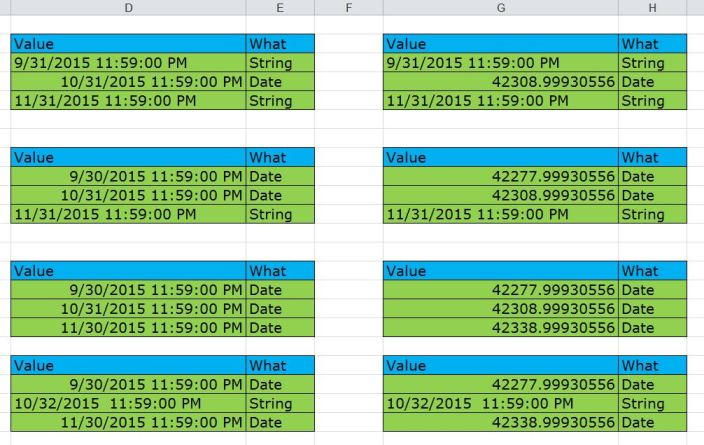 excel how to change date format canada column