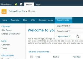 Global navigation drop-down menus hidden behind lists in datasheet view